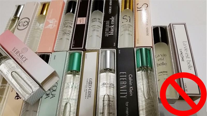 perfumetki to podróbki