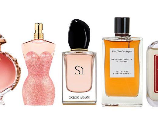 perfumy o zapachu wanilii